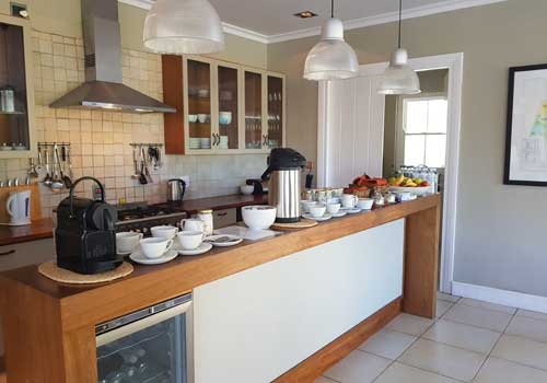 Guest House Kitchen at South Hill