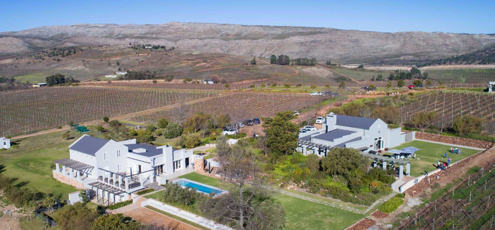Blue Mountain Trail - South Hill Vineyards