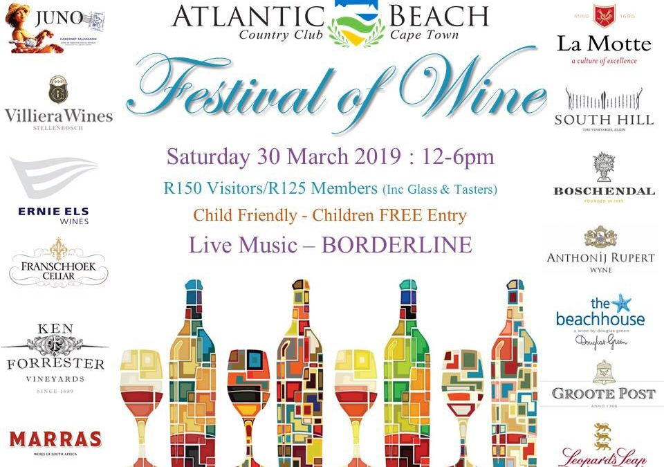 Atlantic Beach Club Festival of Wine 30 March 2019
