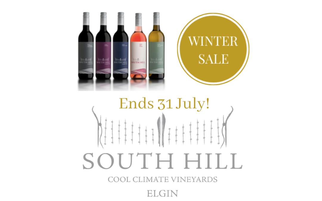 Winter Wine Sale Ends 31 July!